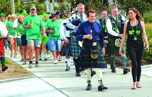Papa Rocco's Sponsors Annual St. Patrick's Day Pub Crawl
