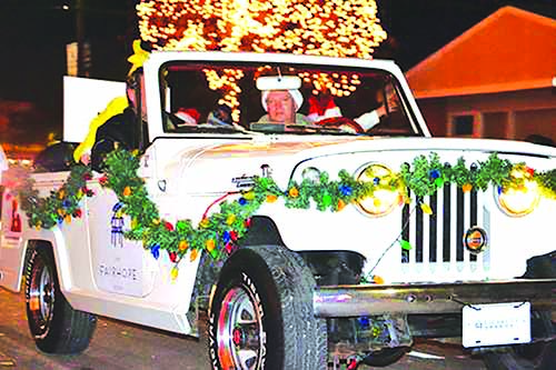Fairhope Christmas Parade scheduled Dec